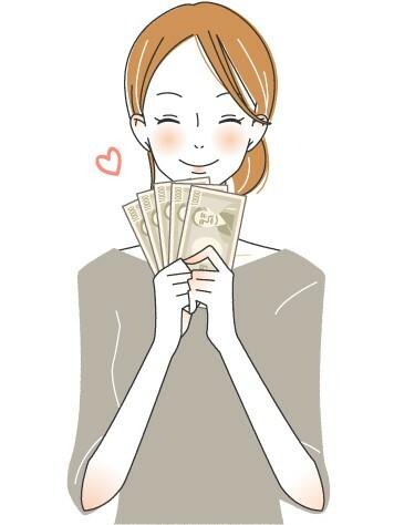 お金の勉強中のカネコさん