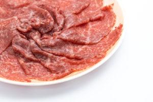 お礼の品の霜降り肉
